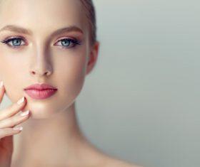 Smooth skin Beautiful women Stock Photo 08