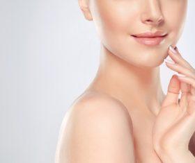 Smooth skin Beautiful women Stock Photo 09