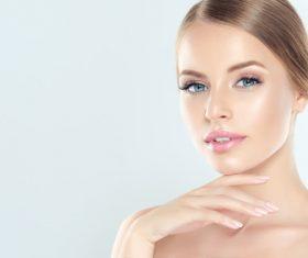 Smooth skin Beautiful women Stock Photo 10
