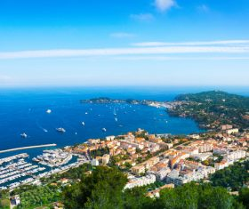 Southern France City Nice Stock Photo 03