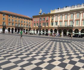 Southern France City Nice Stock Photo 04