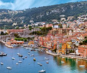 Southern France City Nice Stock Photo 05