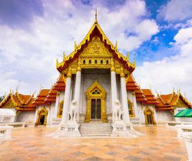 Splendid temple architecture Stock Photo 10
