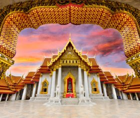 Splendid temple architecture Stock Photo 11