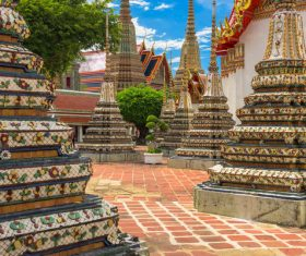 Splendid temple architecture Stock Photo 13