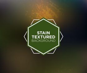 Stain textured background vector 01