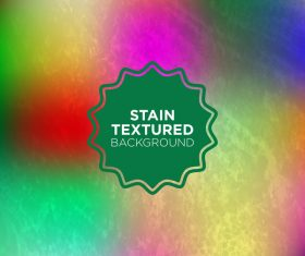 Stain textured background vector 02