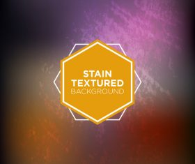 Stain textured background vector 03