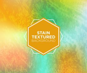 Stain textured background vector 05