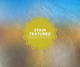 Stain textured background vector 06