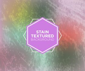 Stain textured background vector 07
