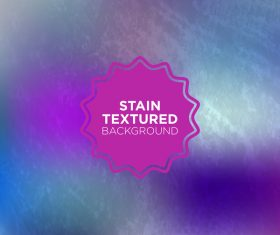 Stain textured background vector 08