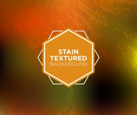 Stain textured background vector 09