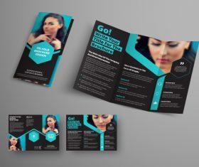 Universal vector business brochure tri-fold 06