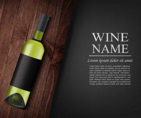 Vintage wine background design vector 01