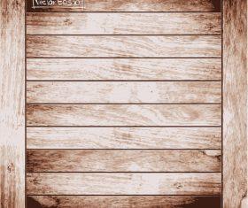 Vintage wooden texture background design vector 03