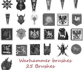 Warhammer Photoshop Brushes