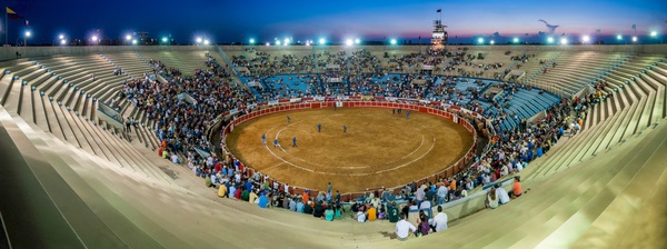 Watch the bullfighting audience Stock Photo 02