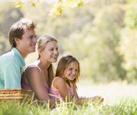 Weekend Family Picnic Stock Photo 01