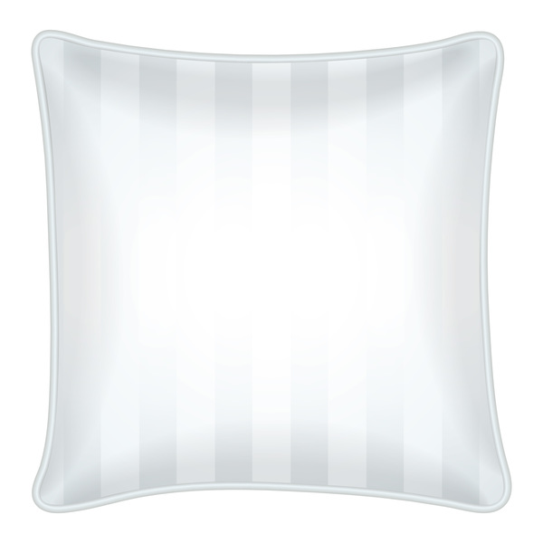 white stirpe pillow template vector 02 free download