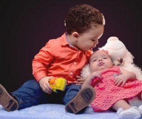 cute baby Stock Photo 03