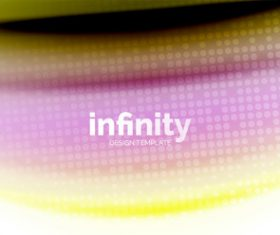 infinity colored design background vector 05