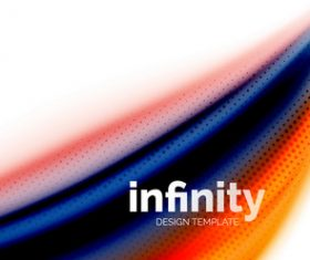 infinity colored design background vector 11