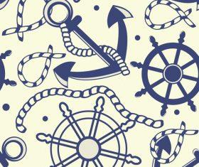 navigation seamless pattern retro vector