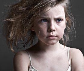 unhappy children Stock Photo 01
