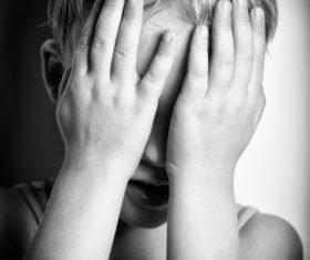 unhappy children Stock Photo 04