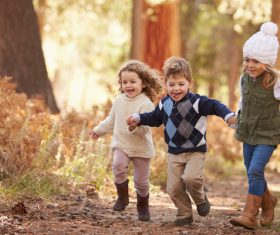 wonderful childhood Stock Photo 03