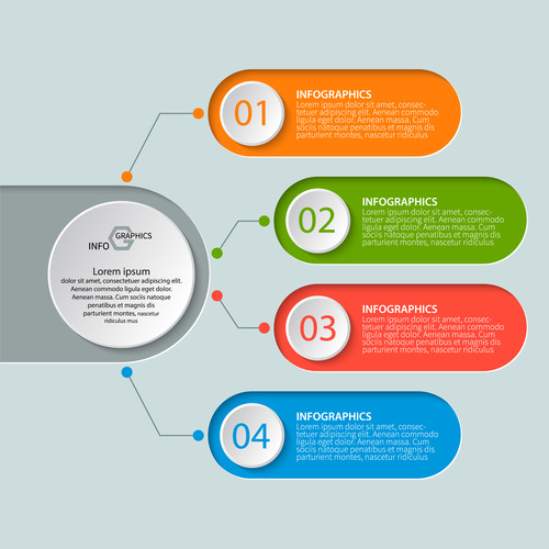 banner option infographic creative template vector 05 free download
