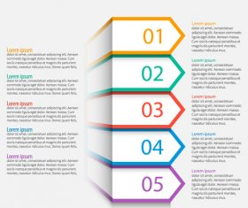 Banner option infographic creative template vector 10