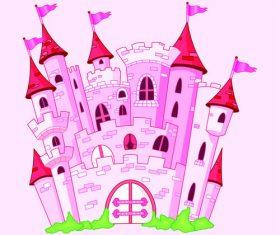Beautiful castle vector