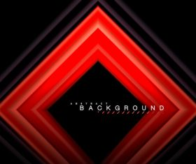 Black with red abstract background vector