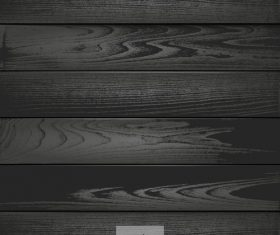Black wood texture background design vector 02
