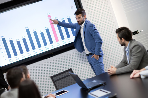 Business Market Data Analysis Conference Stock Photo 03