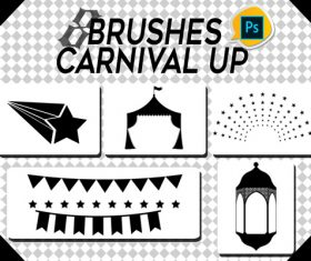 Circus Up photoshop brushes