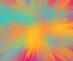 Colorful splash background Stock Photo 02