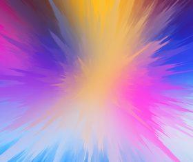 Colorful splash background Stock Photo 04