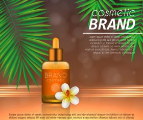 Cosmetic brand poster vector 04