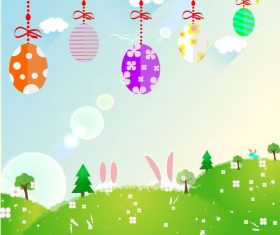 Easter illustration picture vector