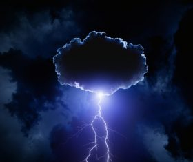 Ever changing lightning in the cumulonimbus cloud Stock Photo 10