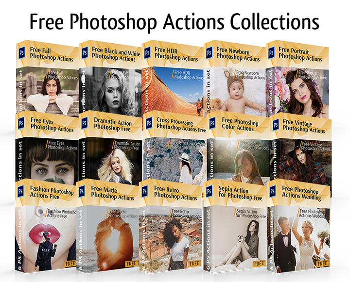 Free Photoshop Actions for Portraits