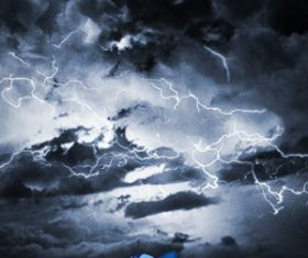 HD Lightning Photoshop Brushes