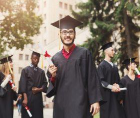 Happy graduation photo Stock Photo 02