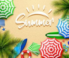 Hello Summer – Vector graphics 02