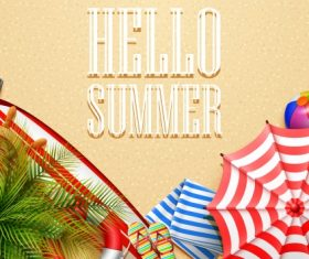 Hello Summer – Vector graphics 04