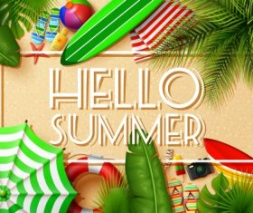 Hello Summer – Vector graphics 05