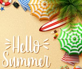 Hello Summer – Vector graphics 08
